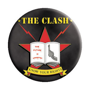 The Clash 'Know Your Rights' Pin