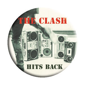 The Clash 'Hit Back' Pin - DeadRockers