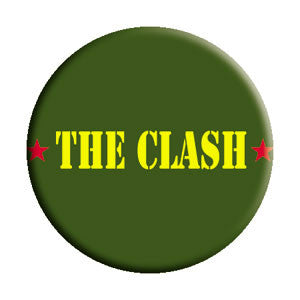 The Clash Army Pin