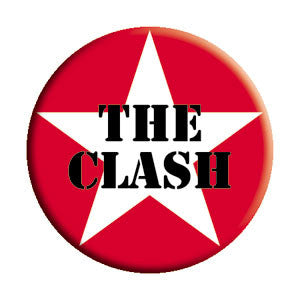 The Clash 'Star' Pin - DeadRockers