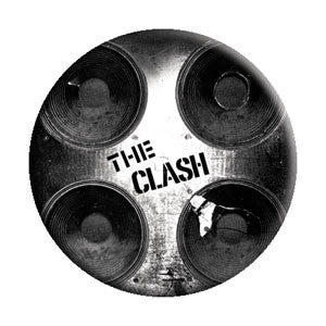 The Clash Speakers Pin - DeadRockers