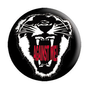 Against Me Tiger Pin - DeadRockers