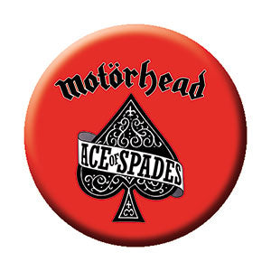 Motorhead Red Ace of Spades Pin