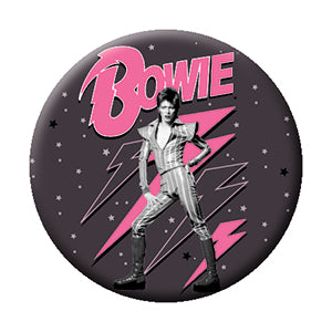 Bowie Pink Bolts Pin