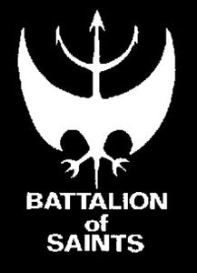 Battalion of Saints Back Patch - DeadRockers