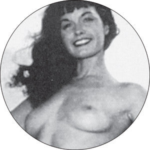 Bettie Page Chest Pin - DeadRockers