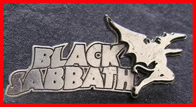 Black Sabbath Metal Pin