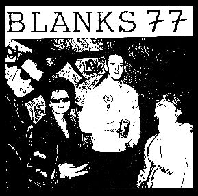 Blanks 77 Band Pic Patch