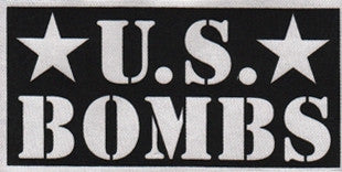 US Bombs Logo Patch - DeadRockers