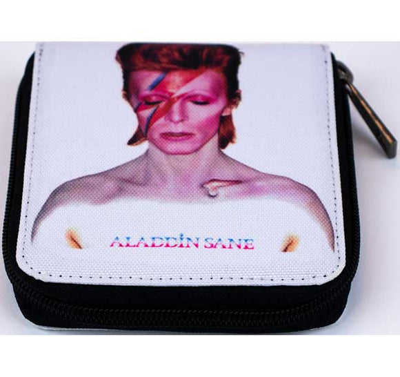 David Bowie Canvas Zip Wallet