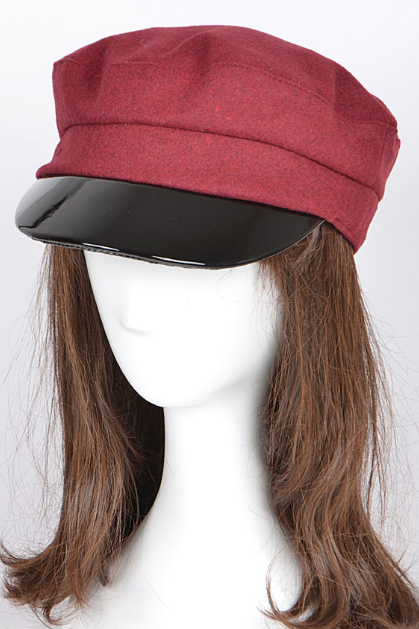 Living After Midnight Hat Burgundy