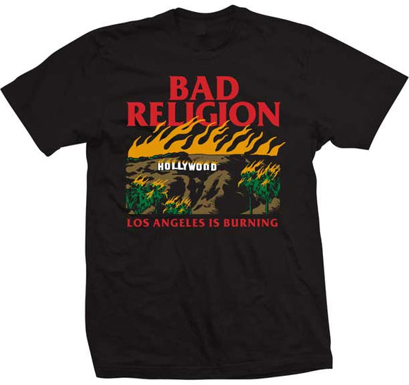 Bad Religion Burning Shirt