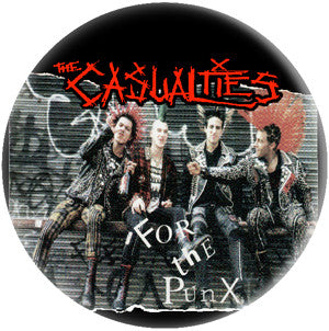 Casualties Band Pic Pin - DeadRockers