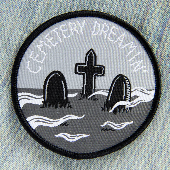 Cemetery Dreaming Embroidered Patch