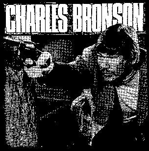 Charles Bronson Back Patch