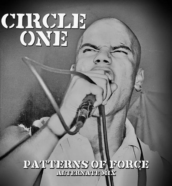 Circle One - Patterns Of Force Alternative Mix LP (Exclusive Clear Pressing)
