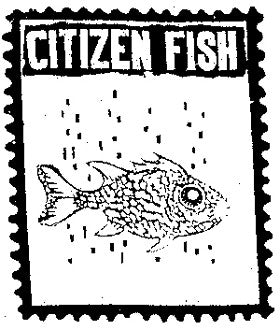 Citizen Fish Patch - DeadRockers