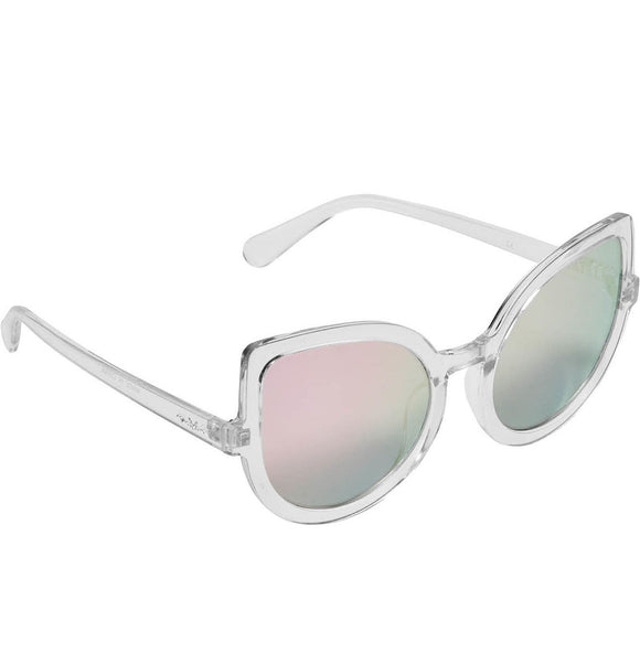 Clear Space Kitty Sunglasses