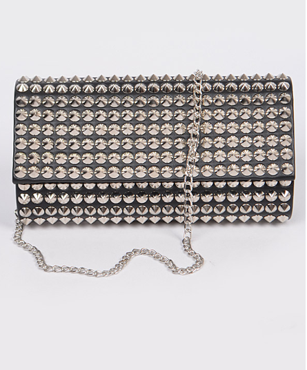 Studded Lover Clutch