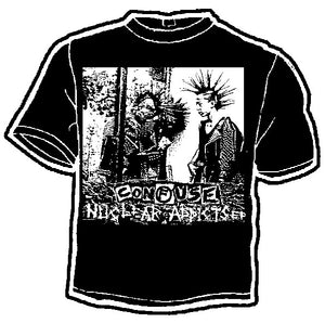 Confuse Nuclear Addicts Band Tee - DeadRockers
