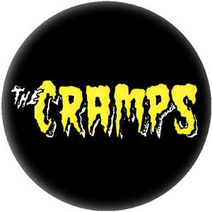 The Cramps Logo Pin