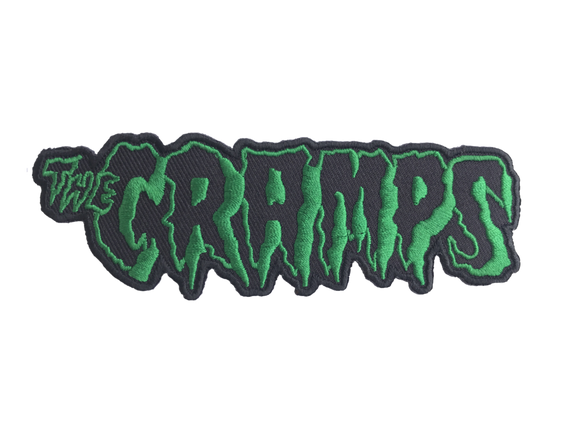 Cramps Embroidered Patch - DeadRockers