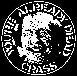 Crass 'Already Dead' Patch - DeadRockers
