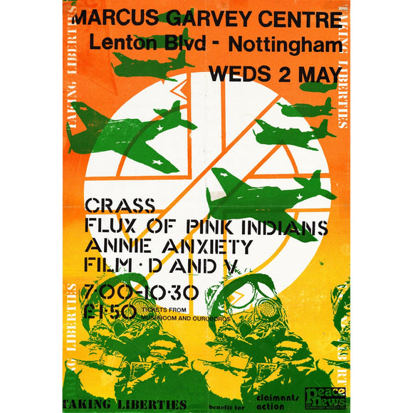 Crass Gig Poster Puzzle