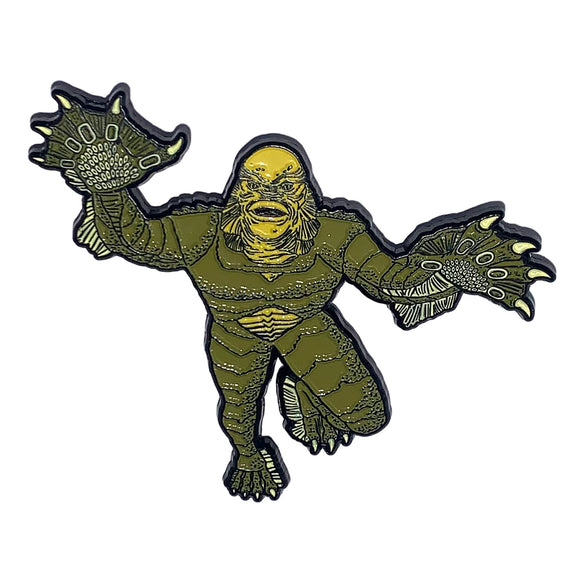 Creature from the Black Lagoon Pounce Enamel Pin