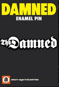 The Damned Logo Enamel Pin