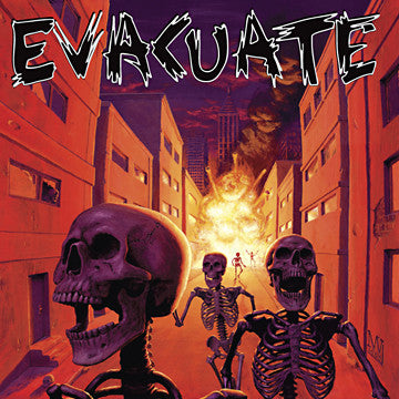 Evacuate S/T LP - DeadRockers