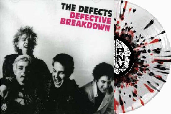 Defects - Defective Breakdown LP Exclusive Splatter (PRE-ORDER)
