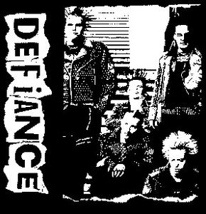 Defiance Back Patch - DeadRockers
