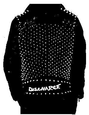 Discharge Jacket Logo Patch