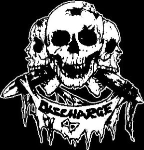 Discharge 'Skulls' Patch - DeadRockers