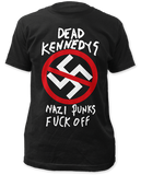 Dead Kennedys Nazi Punks Fuck Off Band Shirt