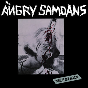 Angry Samoans - Inside My Brian  LP - Red Vinyl - DeadRockers