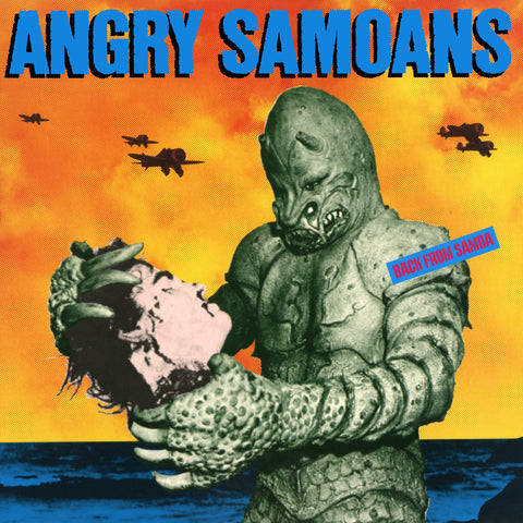 Angry Samoans - Back from Samoa LP - Yellow Vinyl - DeadRockers