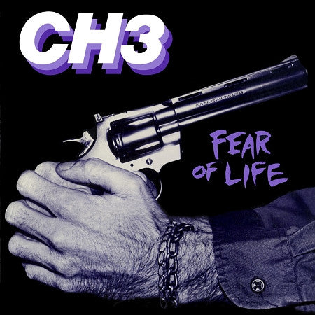 Channel Three - Fear of Life - LP - Lavender Vinyl - DeadRockers