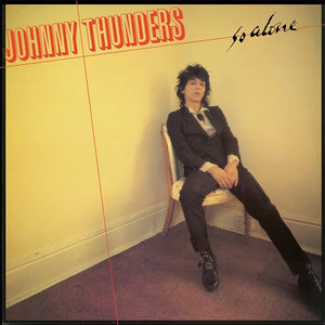 Johnny Thunders - So Alone LP - Yellow Vinyl - DeadRockers