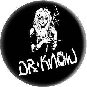 Dr.Know Pin - DeadRockers