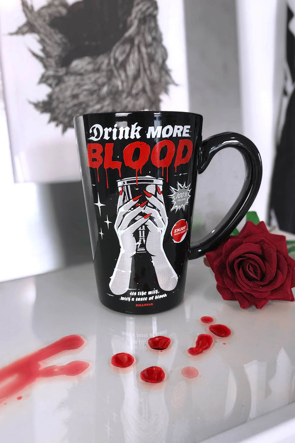 Drink More Blood Tall Mug