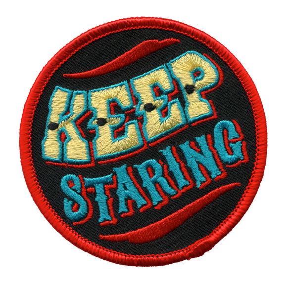 Keep Staring Patch - DeadRockers