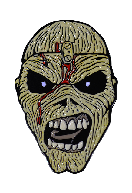 Iron Maiden Piece of Mind Enamel Pin