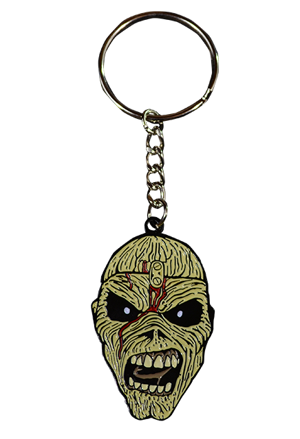 Iron Maiden Piece of Mind Key Chain
