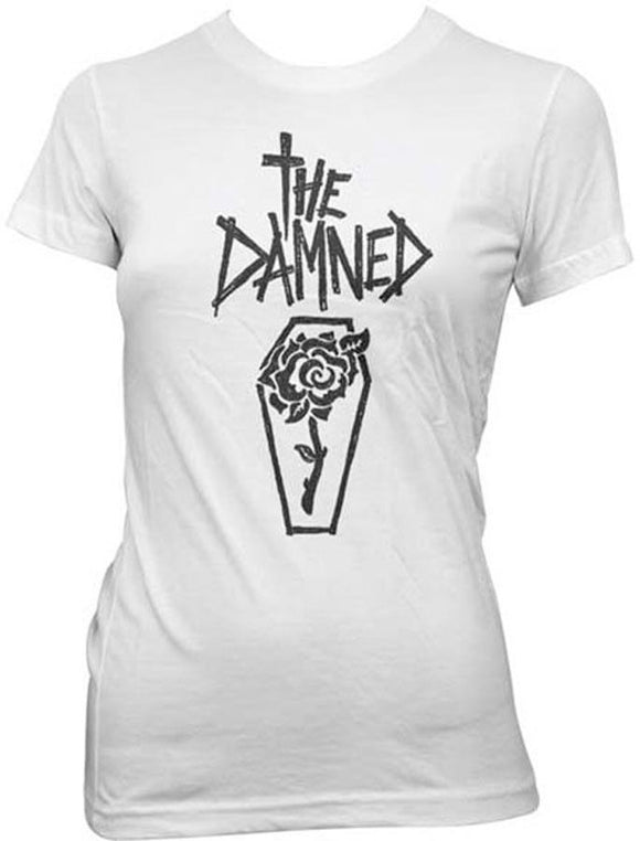 The Damned Rose Coffin Shirt