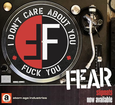 FEAR I Don't Care About You Slipmat