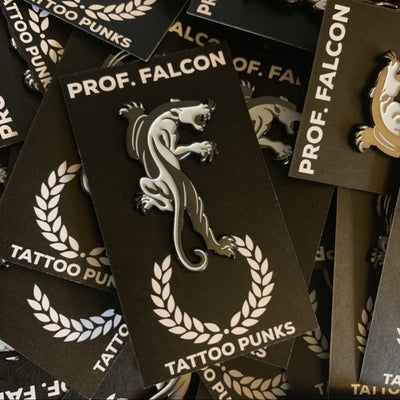 Tattoo Punks Panther Pin