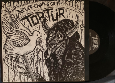 Tortur - Never Ending Grief LP