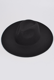Paint it Black Black Brim Hat